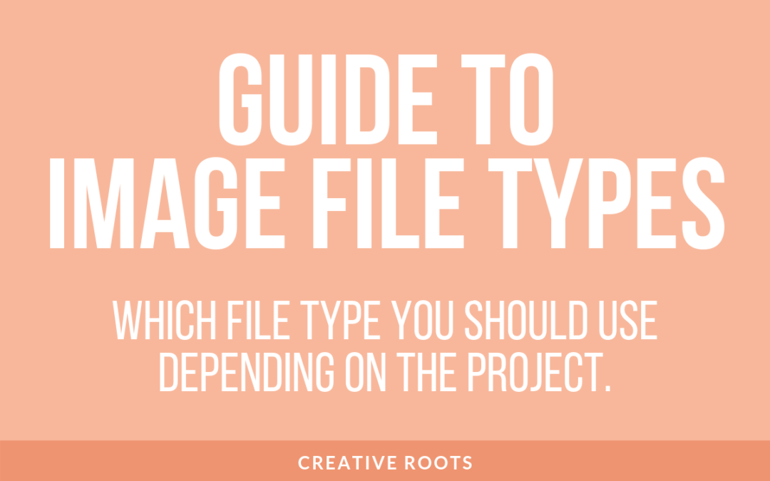 Overview of Image File Types