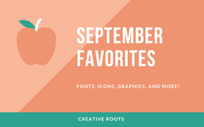 September Font and Resource Roundup