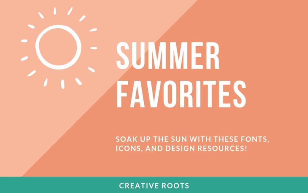 Summer Fonts You'll Love