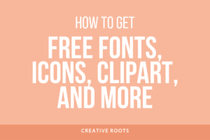 How To Get Free Creative Market Design Assets